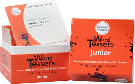 Word Teasers-Junior Vocabulary