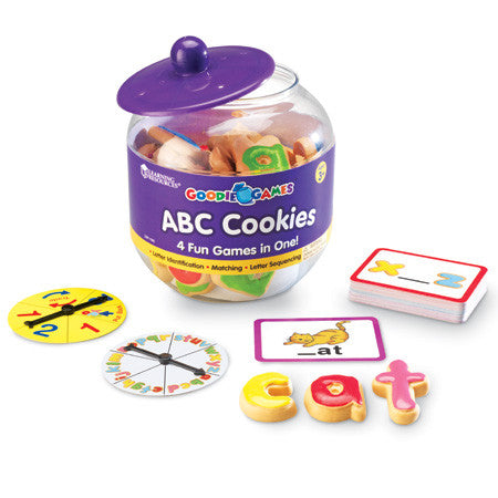 Goodie Games ABC Cookies - Why-Games