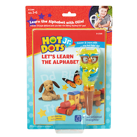 Hot Dots Jr Let's Learn the Alphabet