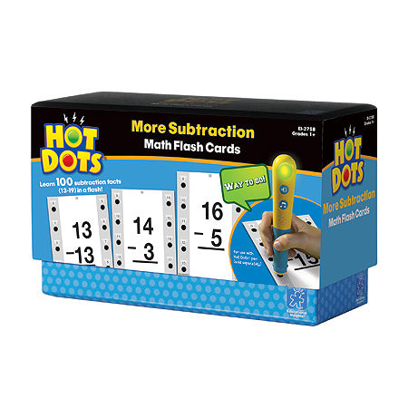 Hot Dots More Subtraction 13-19 - Why-Games