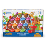 Alphabet Acorns Activity Set - Why-Games