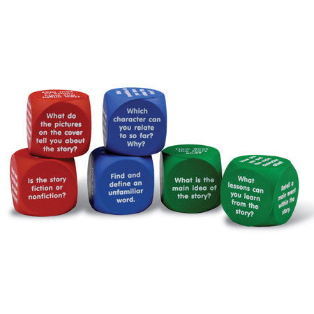 Reading Comprehension Cubes - Why-Games