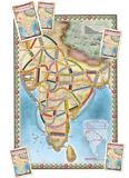 Ticket To Ride India Map Collection 2 - Why-Games