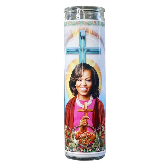 Michelle Obama Celebrity Prayer Candle