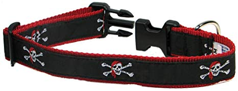 Skull & Crossbones Dog Collar and/or Leash