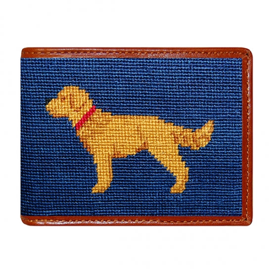 Black Lab Bi-Fold Wallet by Smathers & Branson