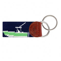Power Boat Key Fob by Smathers & Branson