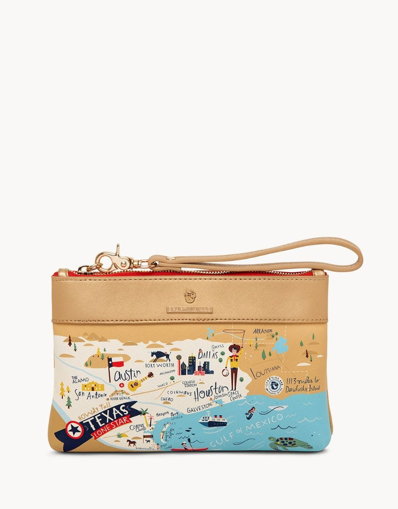 Great Lakes Embroidered Tote by Spartina