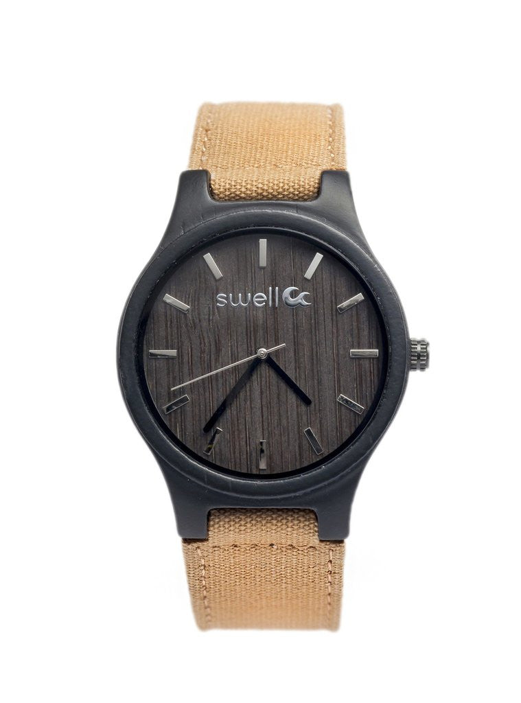 The Backpacker Tundra Bamboo Watch