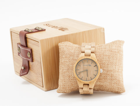 Natural Beauty Bamboo Watch