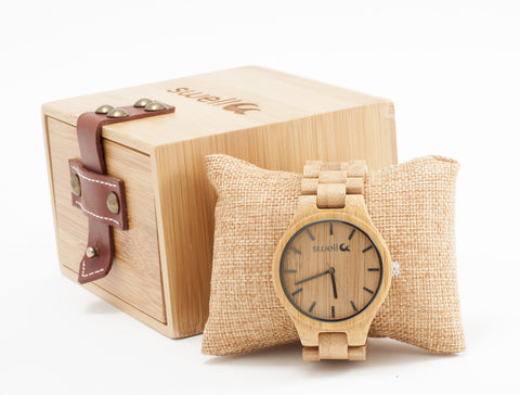 The Classic Bamboo Watch