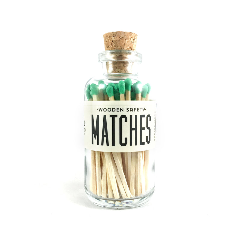Green Matches Apothecary Vintage Small