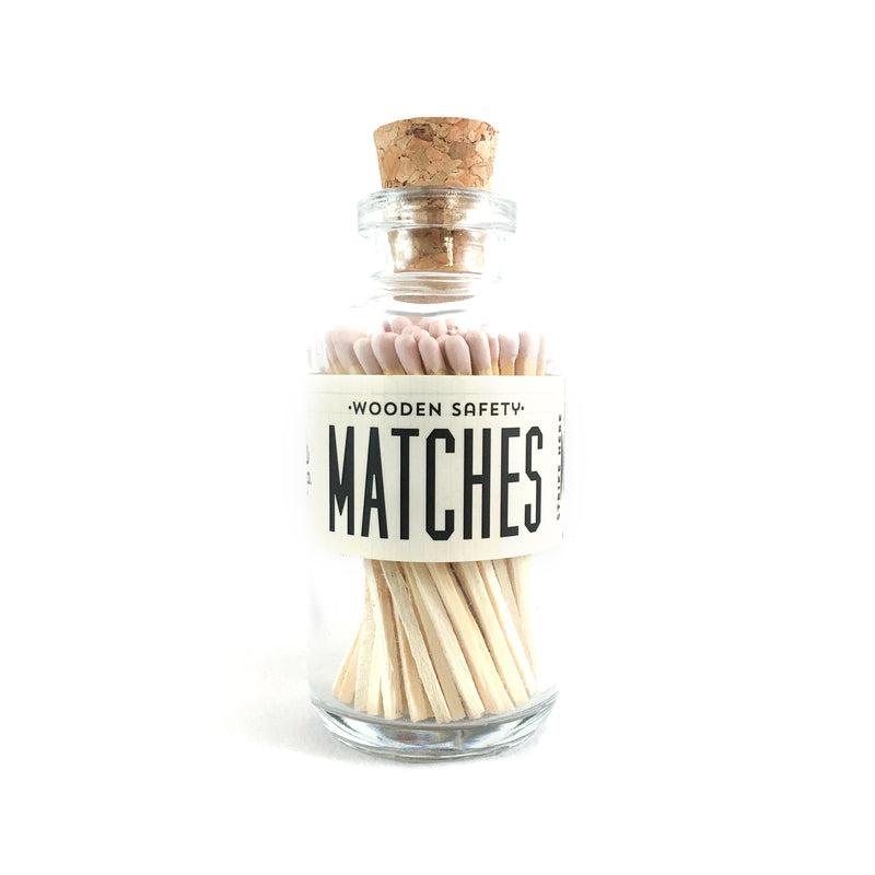 Light Pink Matches Apothecary Vintage Small
