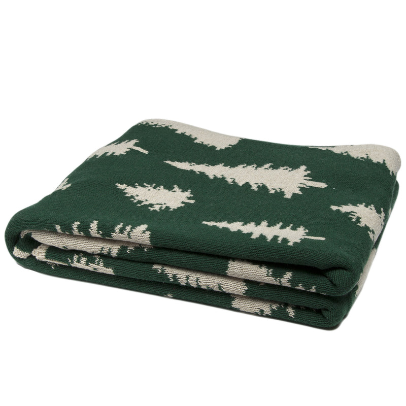 Reversible Fir Tree Throw