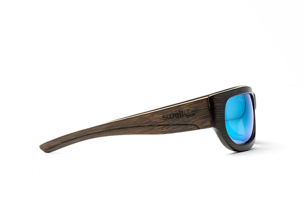 Sportsman Brown w/ Blue Lenses by Swell Vision