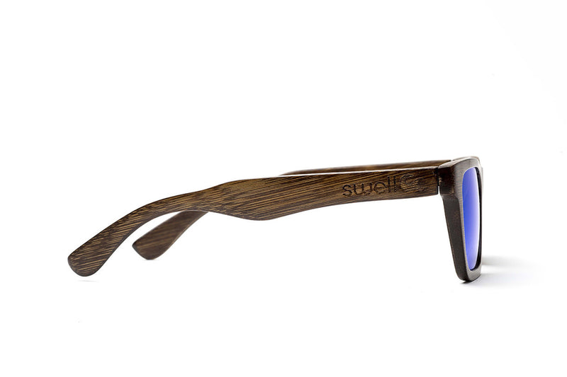 Classic Brown w/ Blue Lenses by Swell Vision