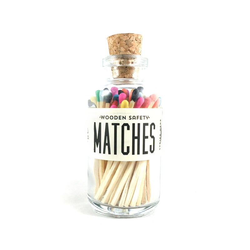 Variety Matches Apothecary Vintage Small