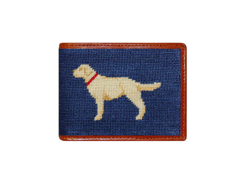 Yellow Lab Bi-Fold Wallet by Smathers & Branson