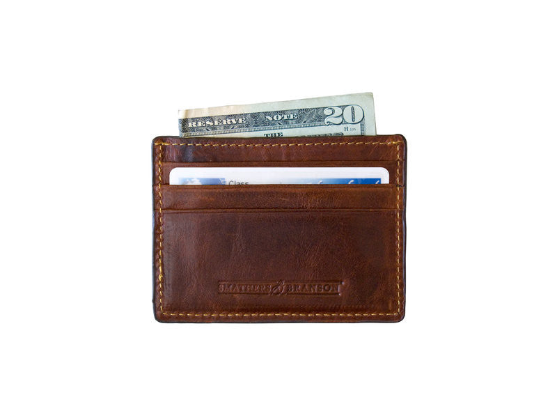 Lacrosse Sticks Credit Card Wallet by Smathers & Branson