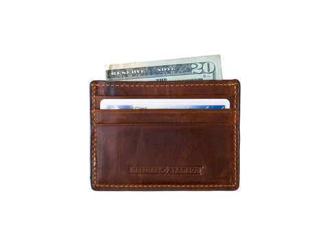Crossed Clubs Credit Card Wallet by Smathers & Branson