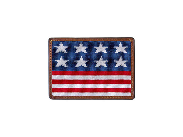 Old Glory Credit Card Wallet by Smathers & Branson