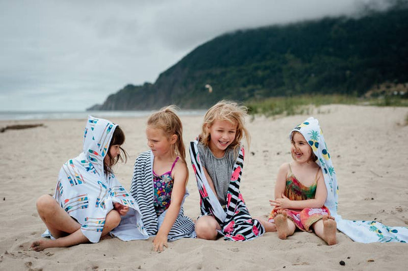 Hooded UPF Kids Towel by Luv Bug