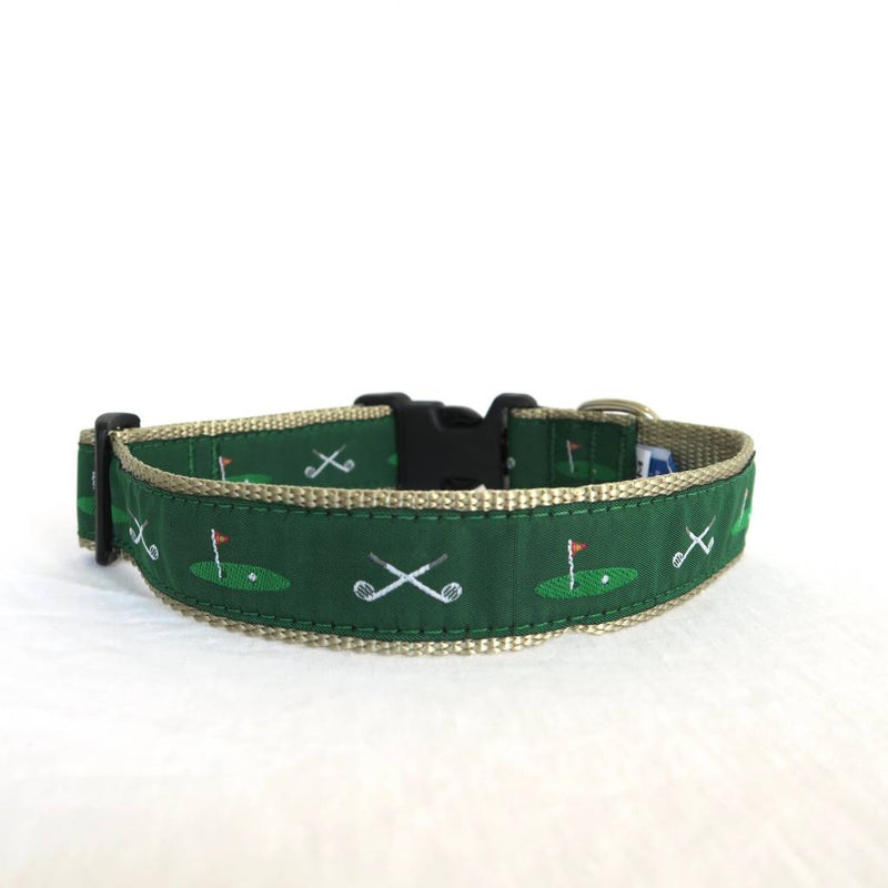18th Hole Dog Collar and Leash