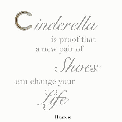 """Cinderella is proof"" poster"