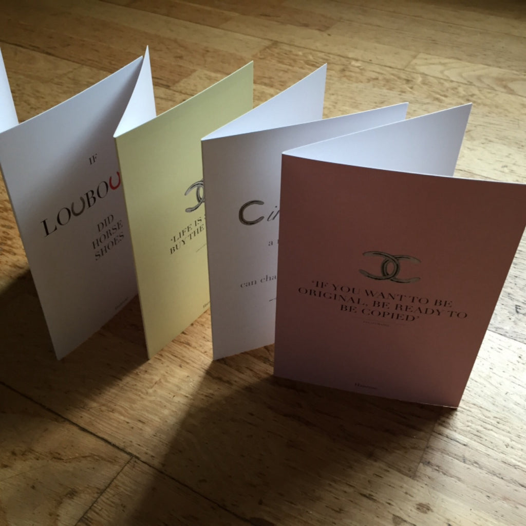 "Pack of Four ""Quote Cards"""