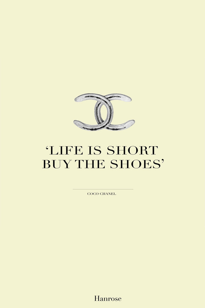 """Life is short"" card"