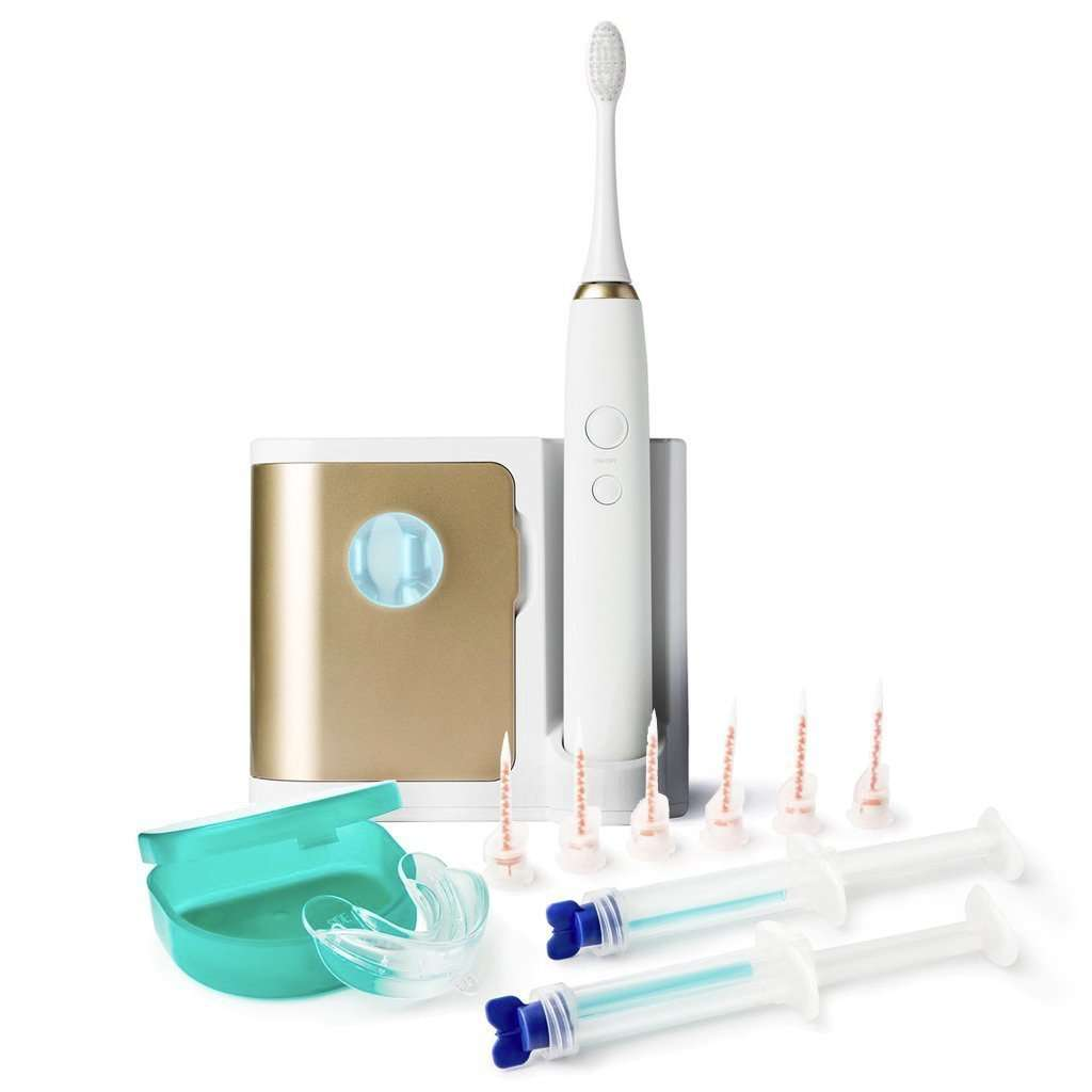 Elements Sonic Toothbrush and Halo White Bundle