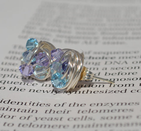 9bd3e4dca V*Dazzled Blue and Purple - Pin It Series- Light Azore, Violet, and ...