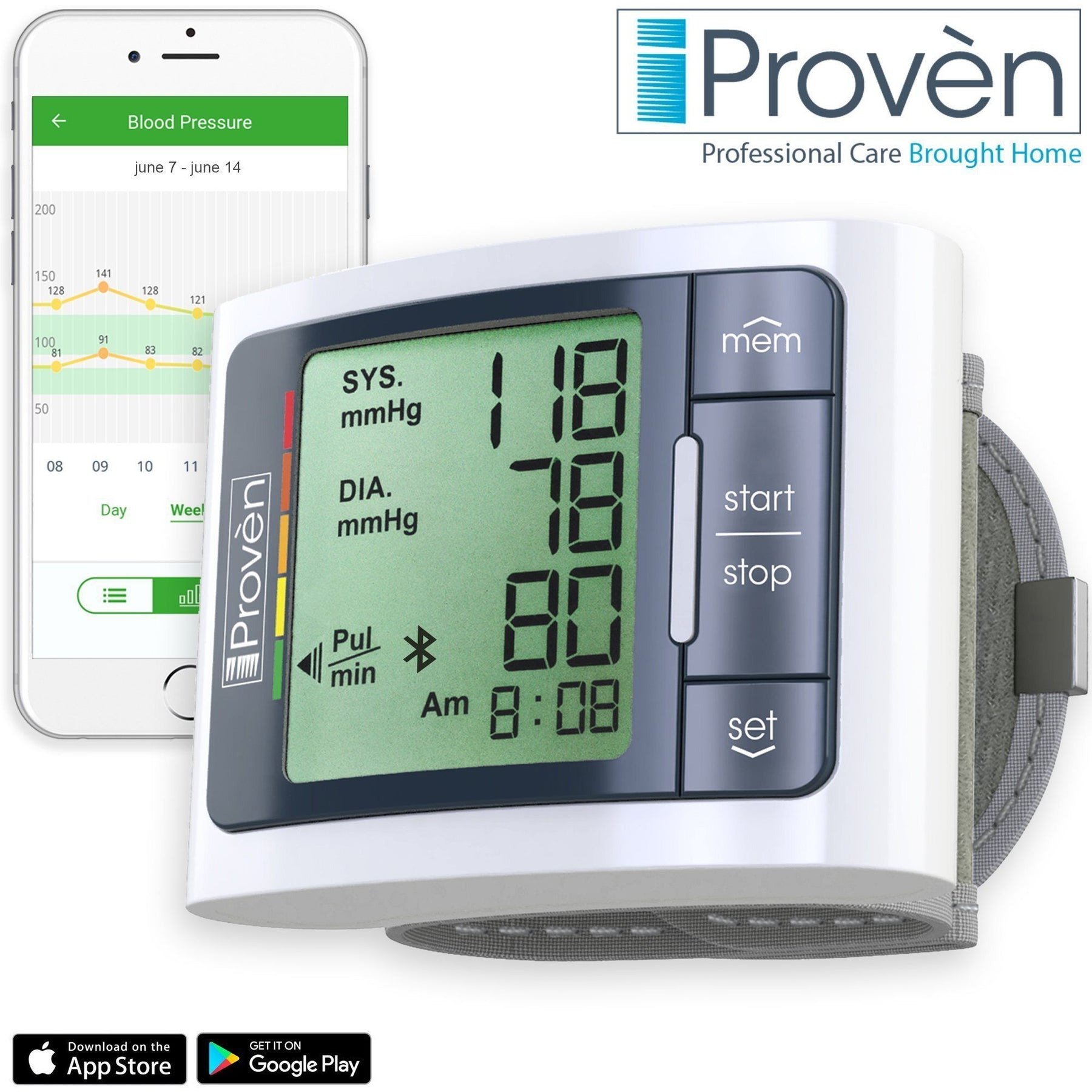 iProvèn's BPM-337BT: Track Your Blood Pressure Wherever You Go