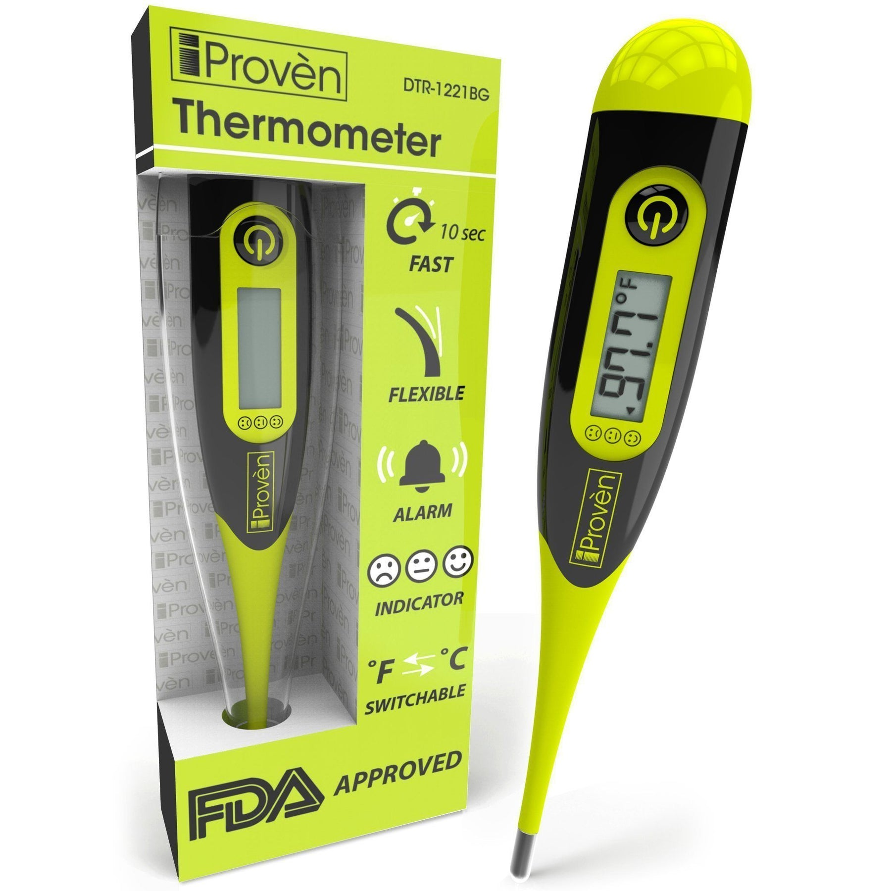iProvèn's DTR-1221BG: The Thermometer For Dads Who Protect Their Family
