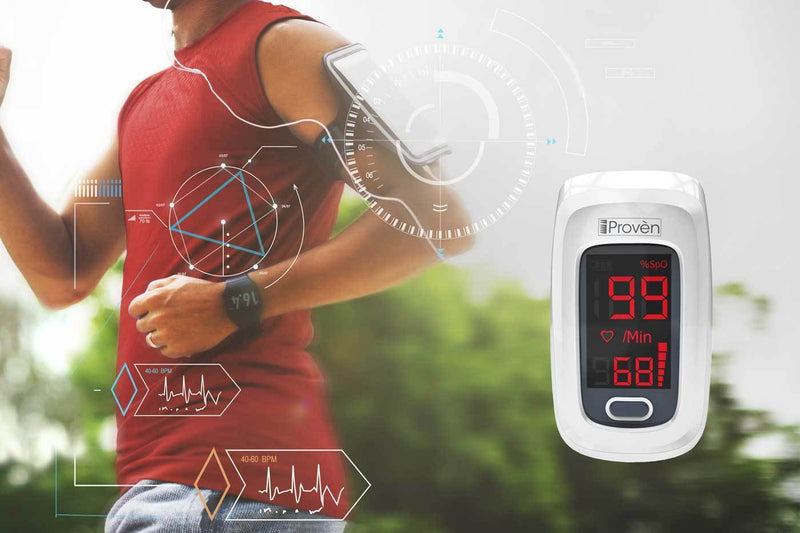 iProvèn's OXI-27 white: Track your health