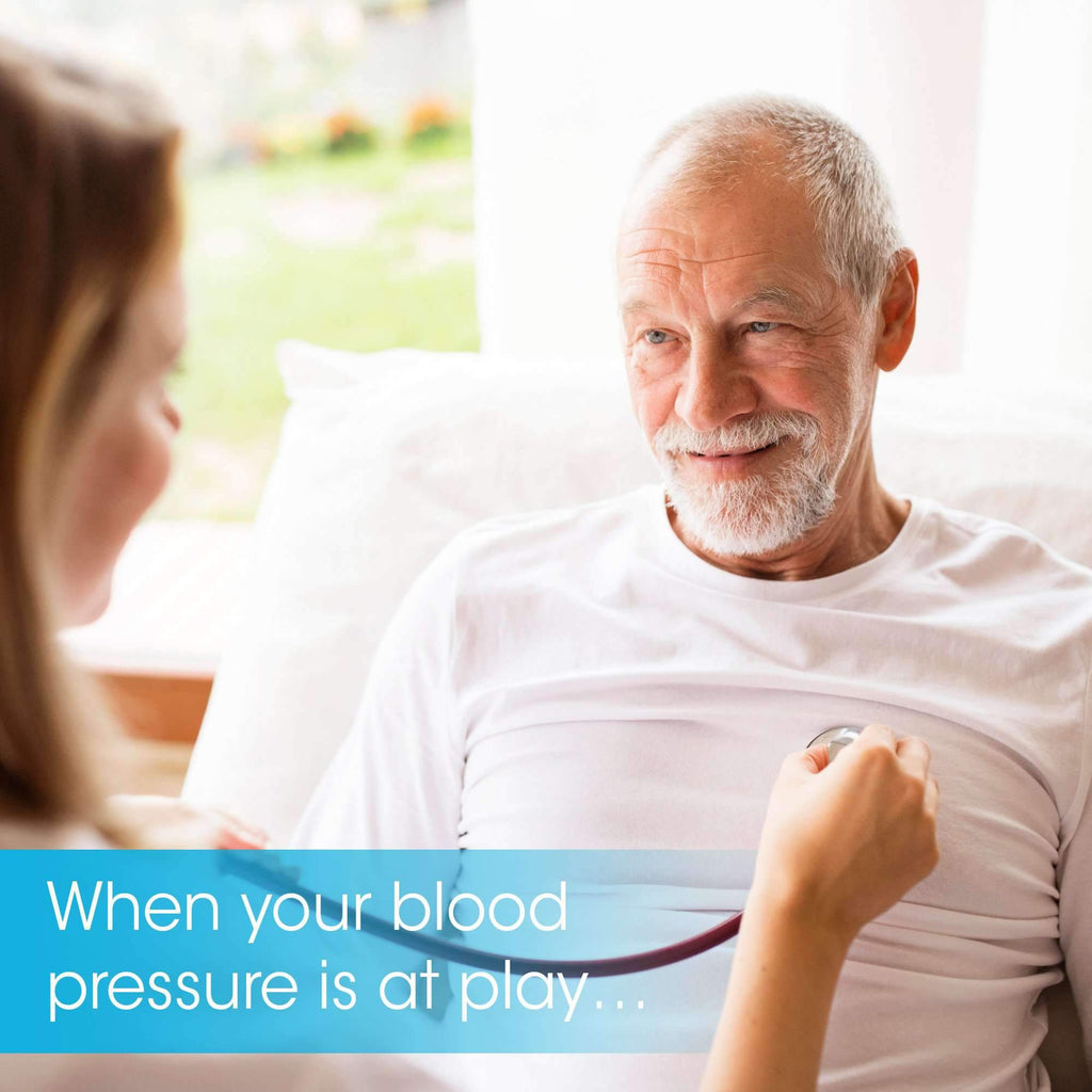 Blood Pressure Monitor with Medium Cuff - Premium Technology: Double Pulse Detection