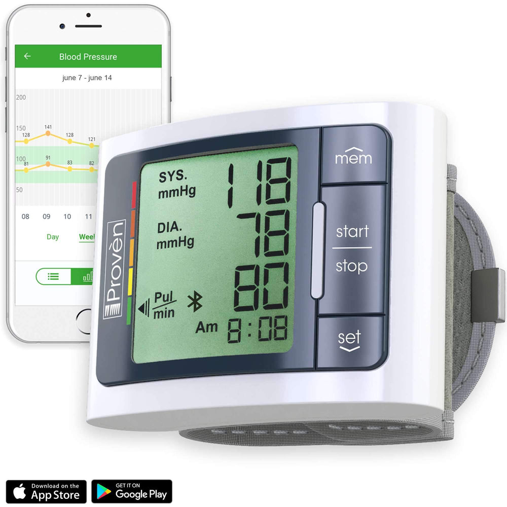 Blood Pressure Monitor Wrist with Bluetooth