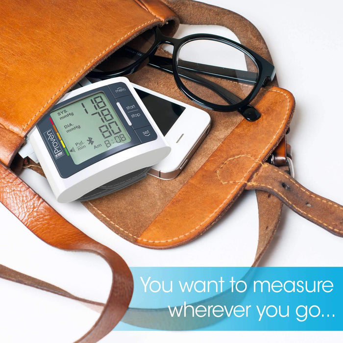 You want to measure your blood pressure wherever you go