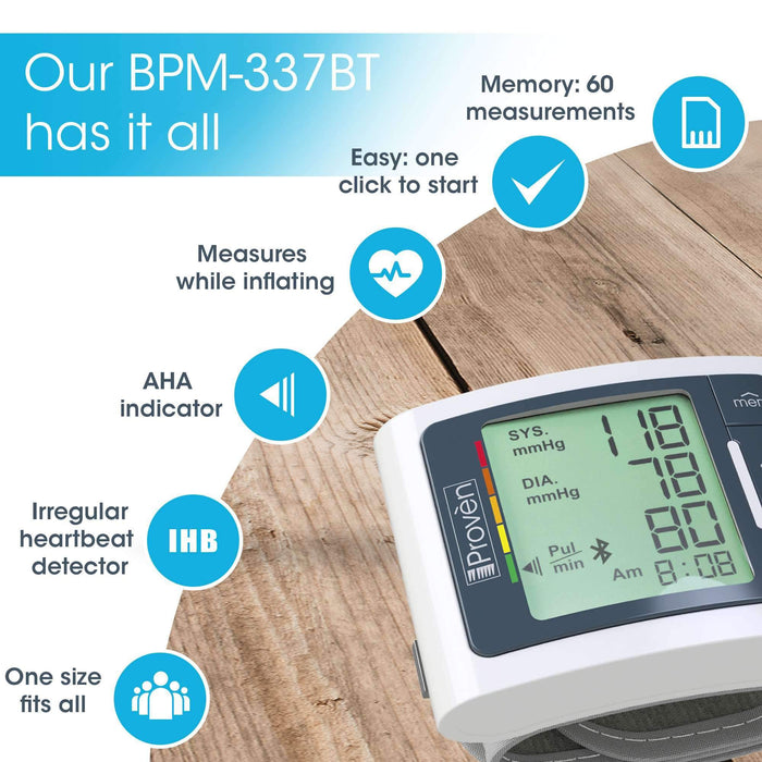 Our BPM-337BT has it all