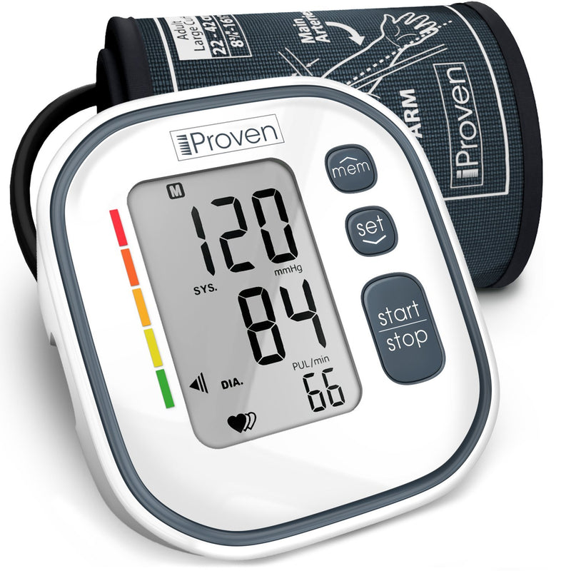 Digital Automatic Cuff Blood Pressure Monitor BPM-634 BPM iProvèn