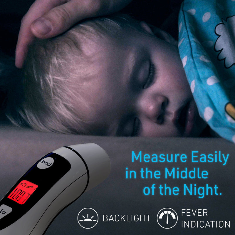 Baby Forehead and Ear Thermometer - iProven DMT-489 DMT Thermometer iProven
