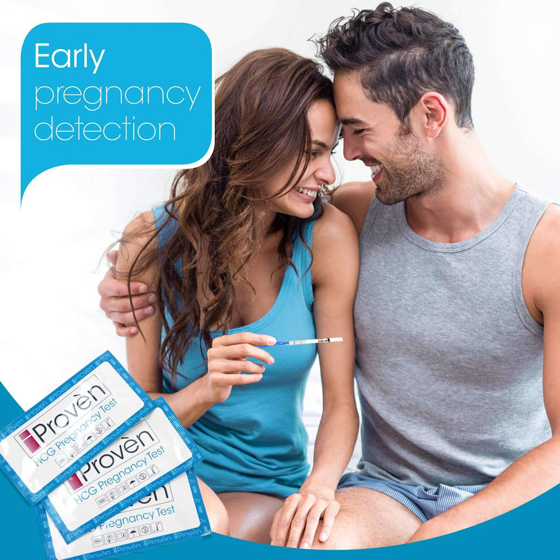 Early Detection Pregnancy Tests - Extra Sensitive HCG Test Strips - iProvèn FH-30 Fertility Tracking iProvèn