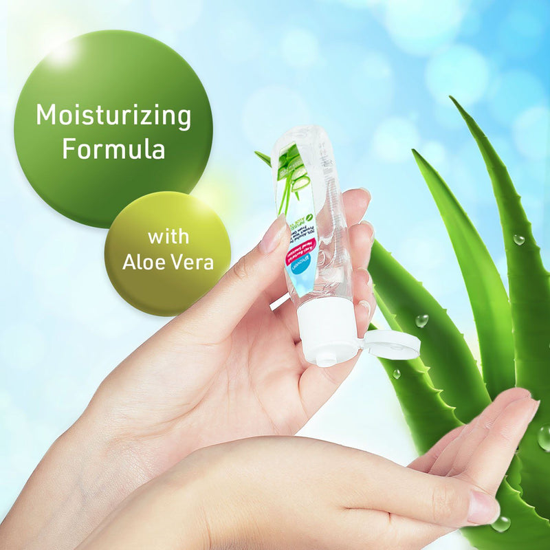 Hand Sanitizer 100 ML - 70% Alcohol Formula with Aloe Vera Hand Sanitizer iProven