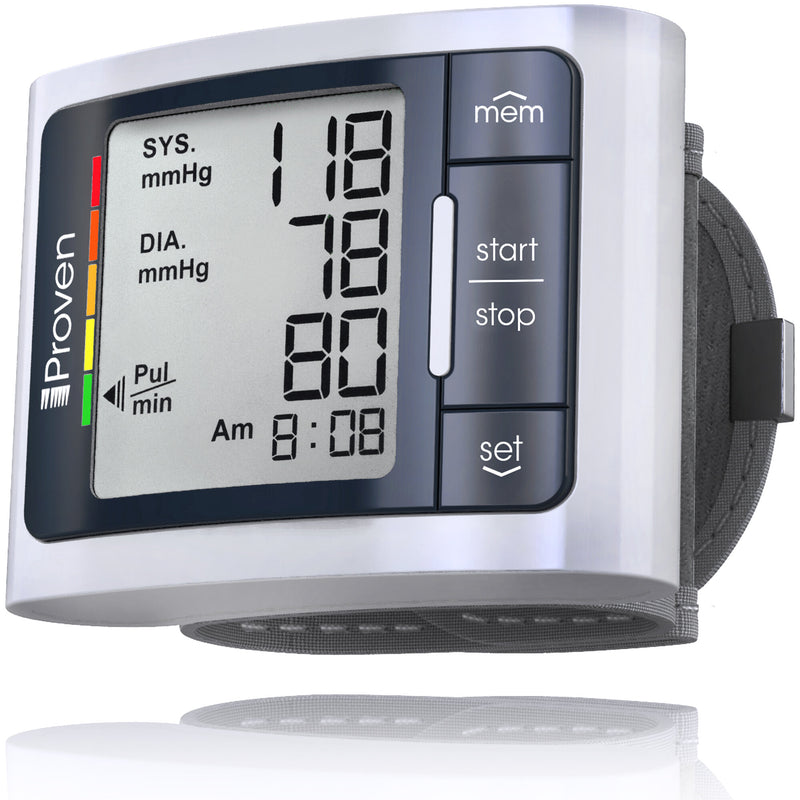Best Blood Pressure Monitors (BPM) for Wrist Home Usage. Wireless Automatic BP Machine for Adults. Clinically Accurate & Fast Reading Monitoring Kit. Large Display and Quick & Accurate readings based on AHA indication. Now With 30 Days No Questions-Asked Money Back Guarantee.