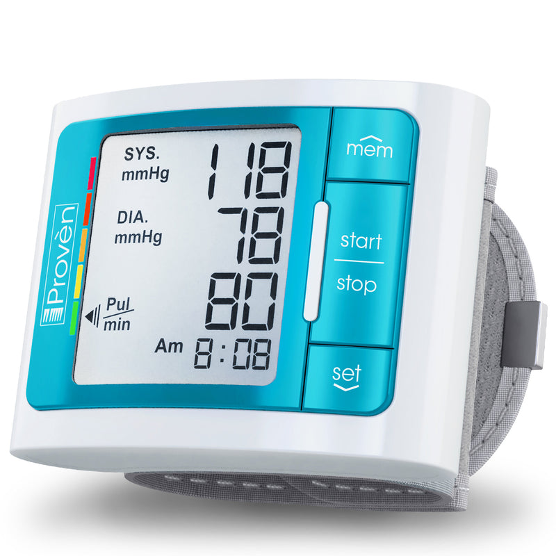iProven BPM-337 Digital Automatic Blood Pressure Monitor Wrist - Clinically Accurate & Fast Reading Monitoring Kit - Wireless Blood Pressure Machine for Home Usage