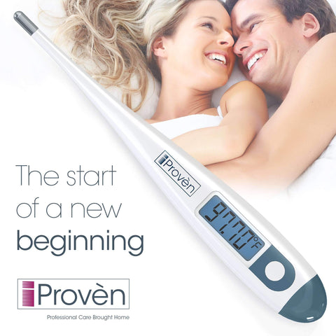 Clinical Basal Thermometer - BBT-113i by iProvèn Updated Model with Backlight - ACCURATE 1/100th Degree, Highly SENSITIVE, Perfect Companion for Family Planning