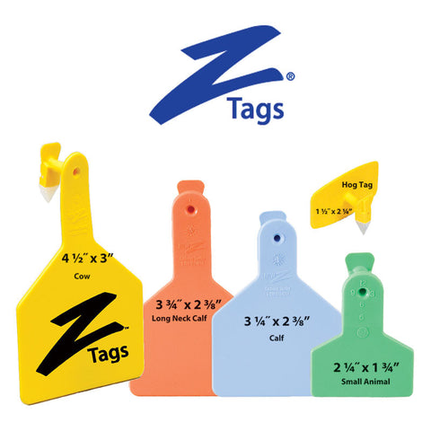 Z Tag Ear Tags