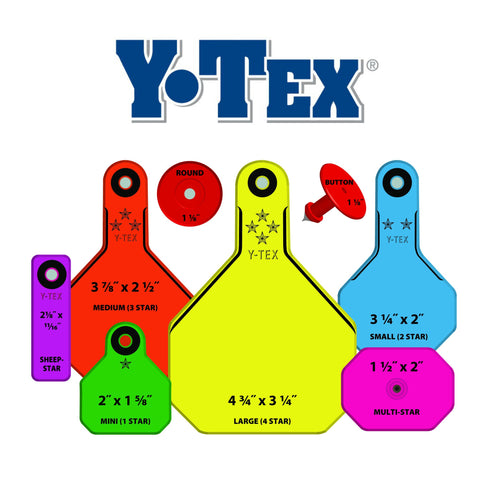 Y-Tex Ear Tags