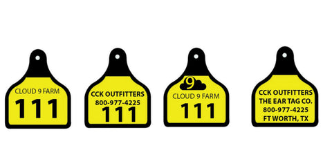 Cal Tag custom Row Tags sold by CCK Outfitters