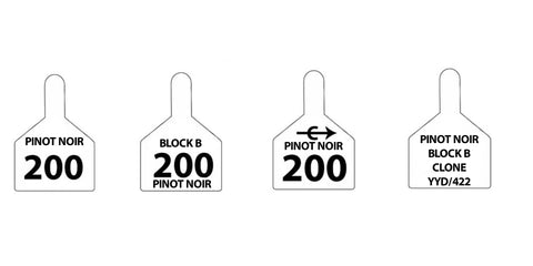 ztag z2 custom row tags sold by CCK Outfitters